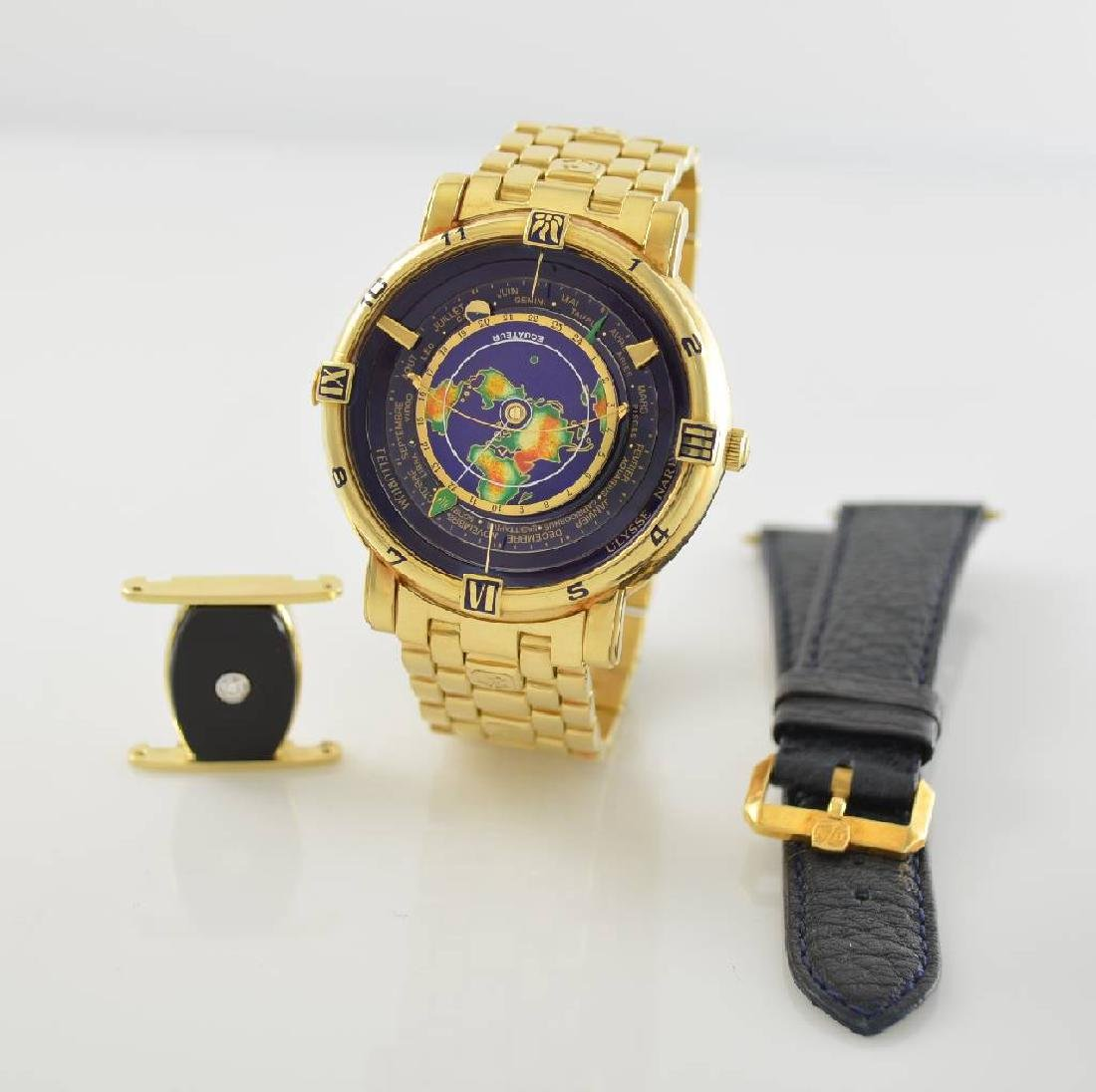 ULYSSE NARDIN Tellurium astronomical 18k yellow gold