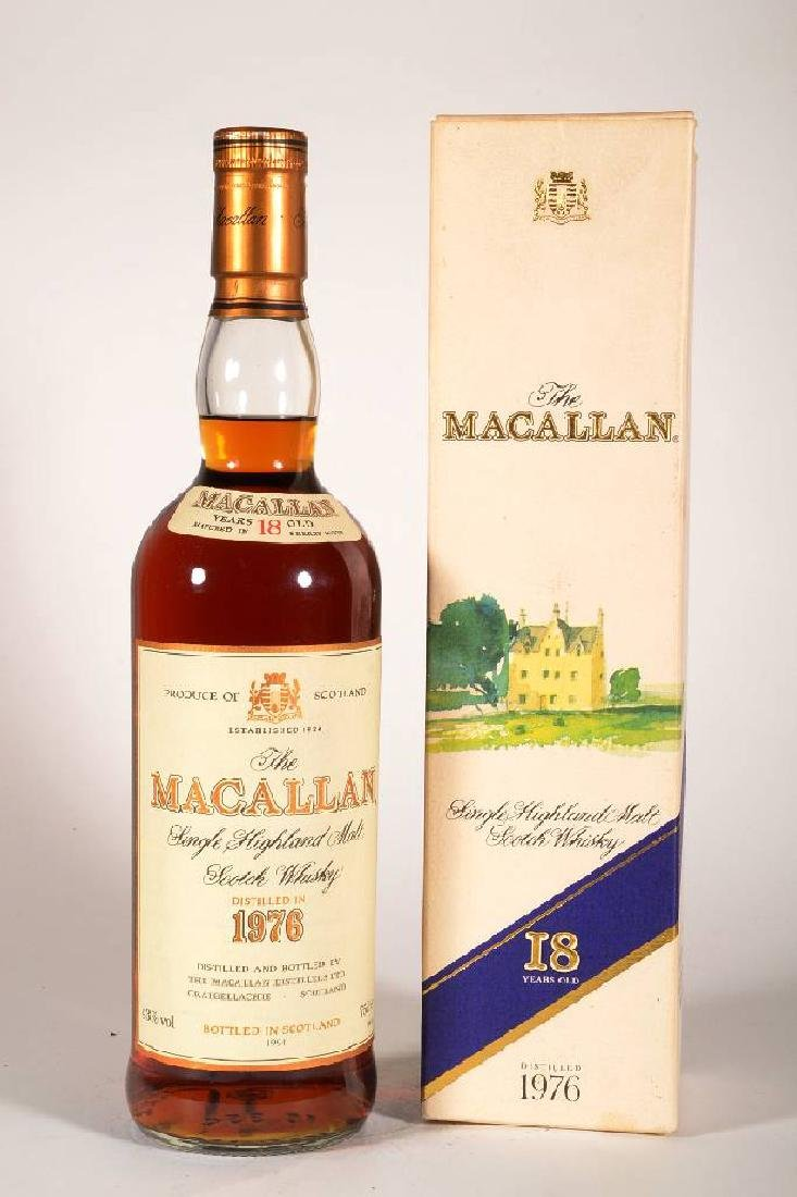 1 bottle of 1976 The Macallan