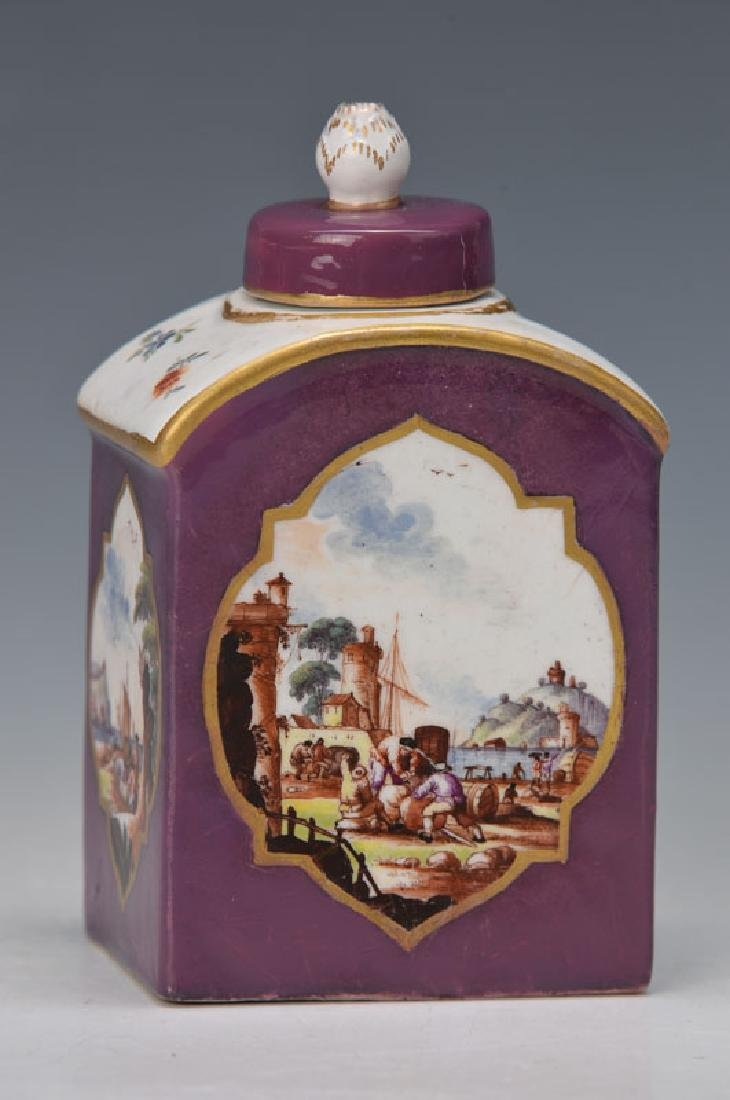 tea caddy, Meissen