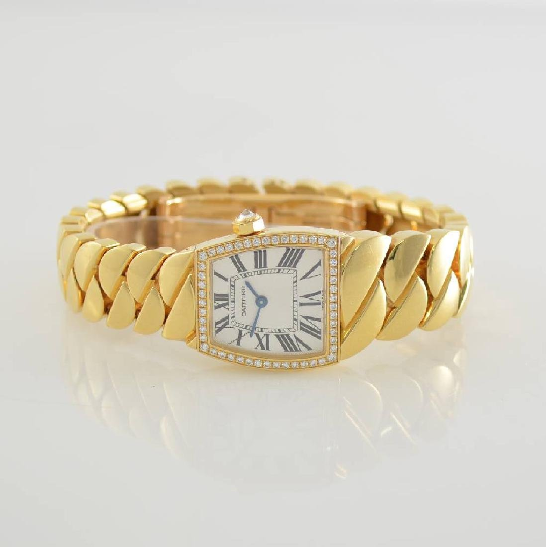 CARTIER 18k yellow gold factory diamonds set La Dona