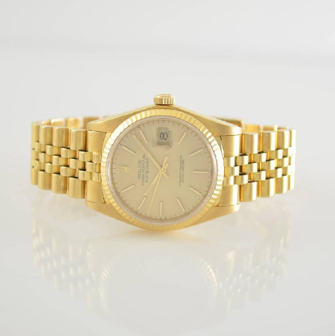 ROLEX 18k yellow gold Oyster Perpetual Datejust