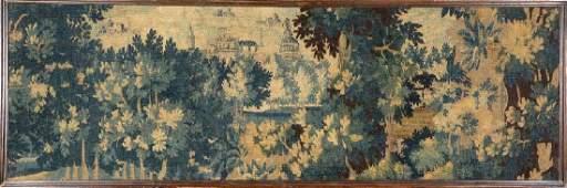 Flemish 'Tapestry' (Fragment),