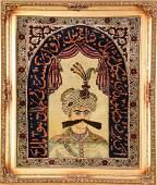 KirmanRavar Rug Shah Abbas Pictorial