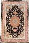 Fine 'Part-Silk' Tabriz Carpet (60 RAJ),