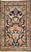 Fine 'Part-Silk' Isfahan Rug,