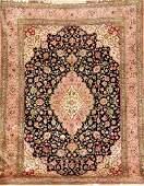 Fine Silk Qum Carpet,