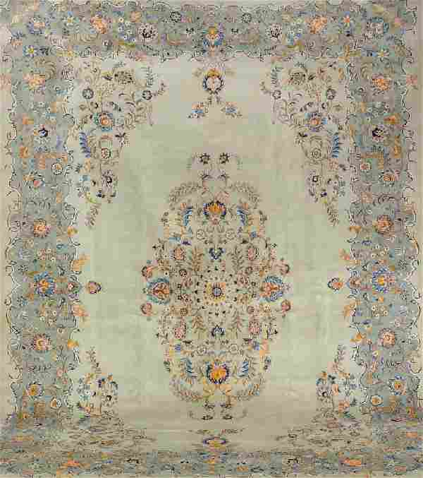 Kashan Carpet,