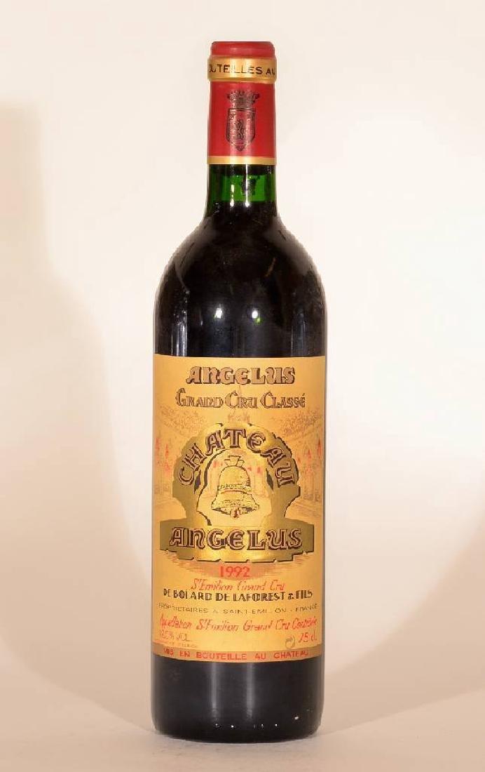1 bottle 1992 Chateau Angelus