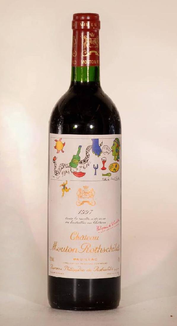 1 bottle 1997 Mouton Rothschild