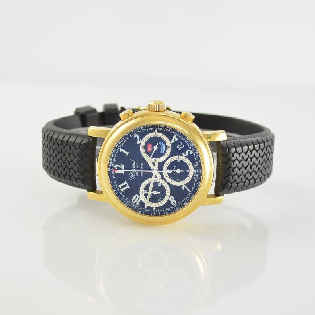 CHOPARD 18k yellow gold chronograph Mille Miglia