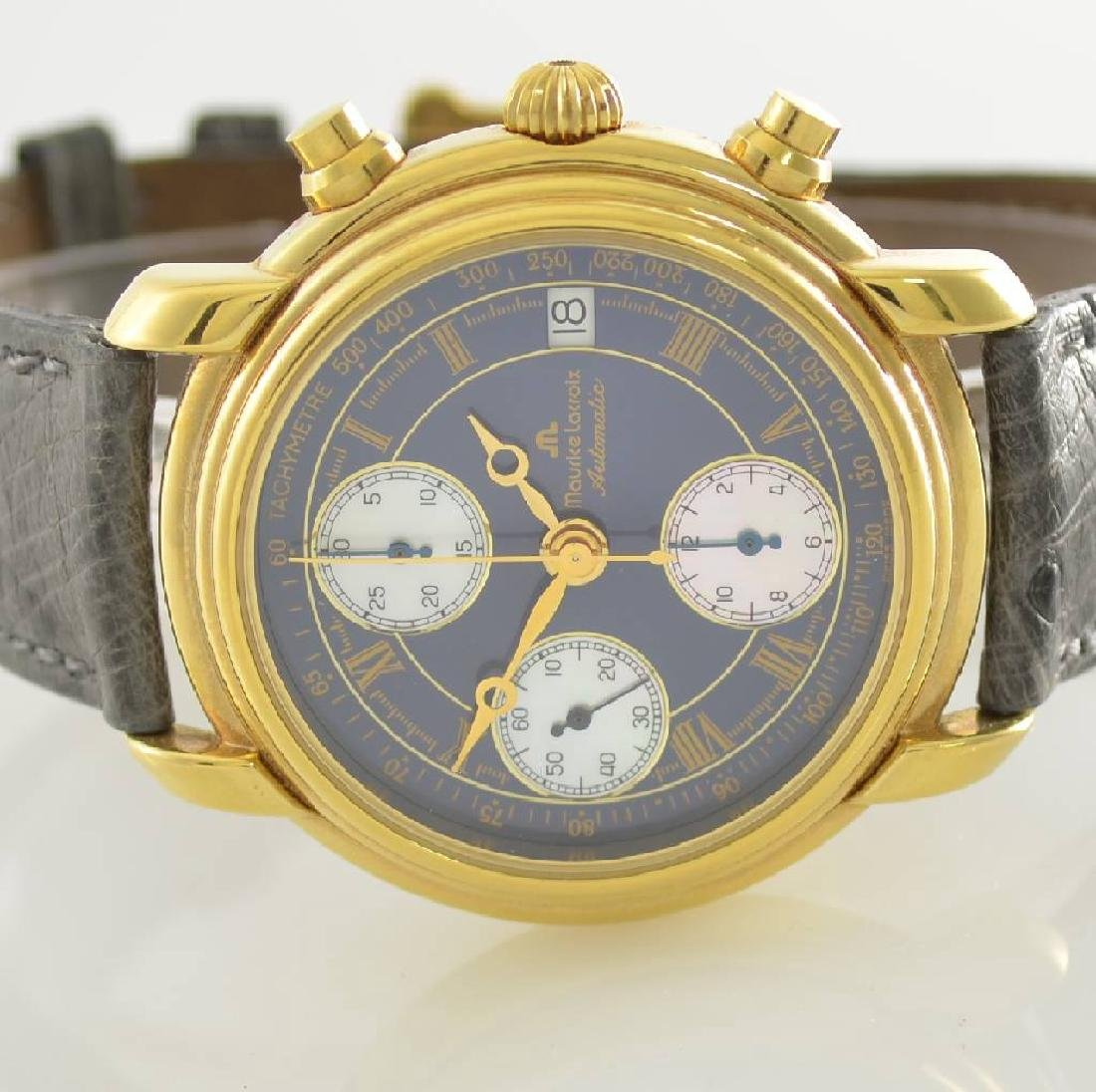 MAURICE LACROIX gents wristwatch with chronograph - 2