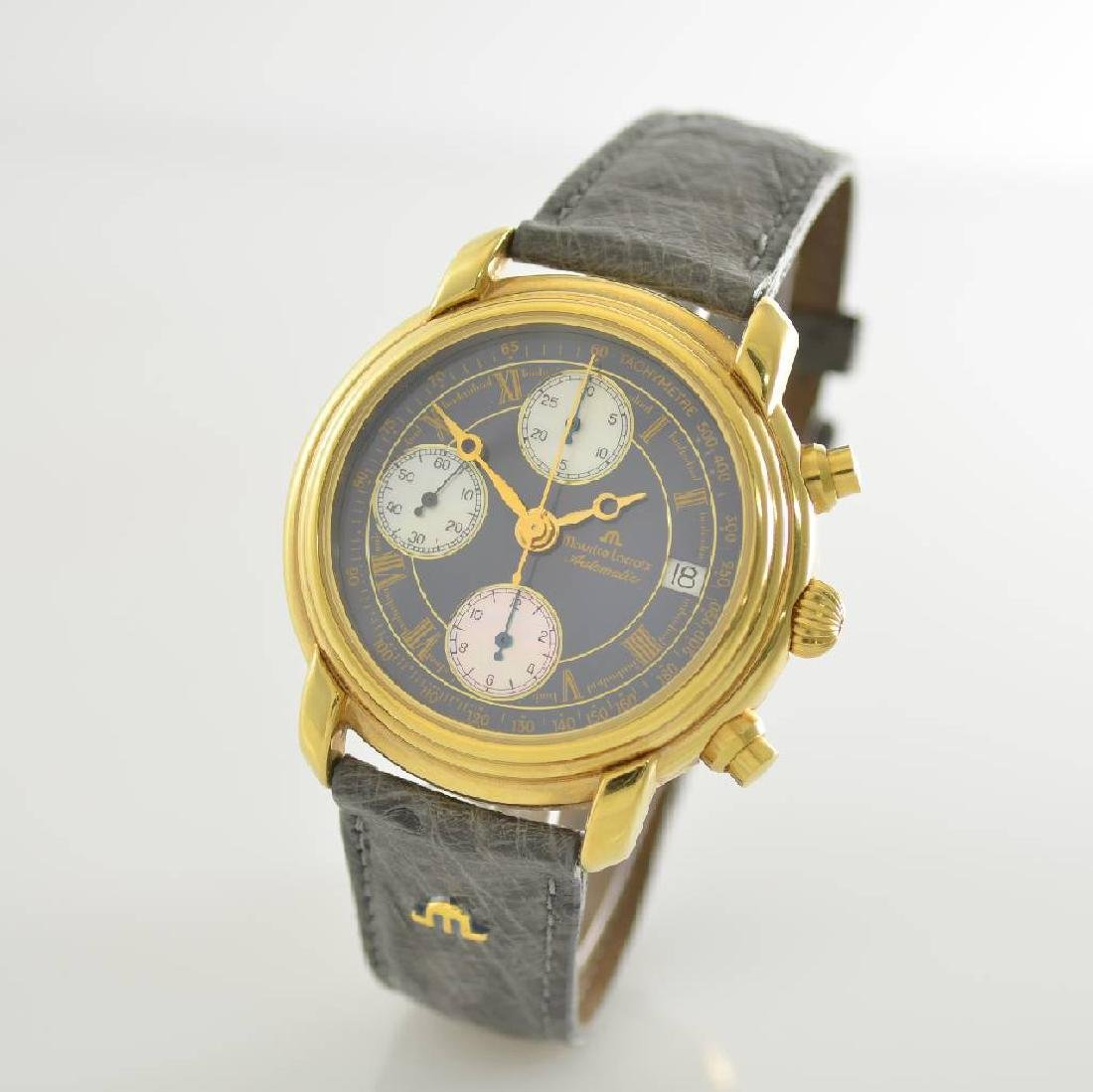 MAURICE LACROIX gents wristwatch with chronograph - 3
