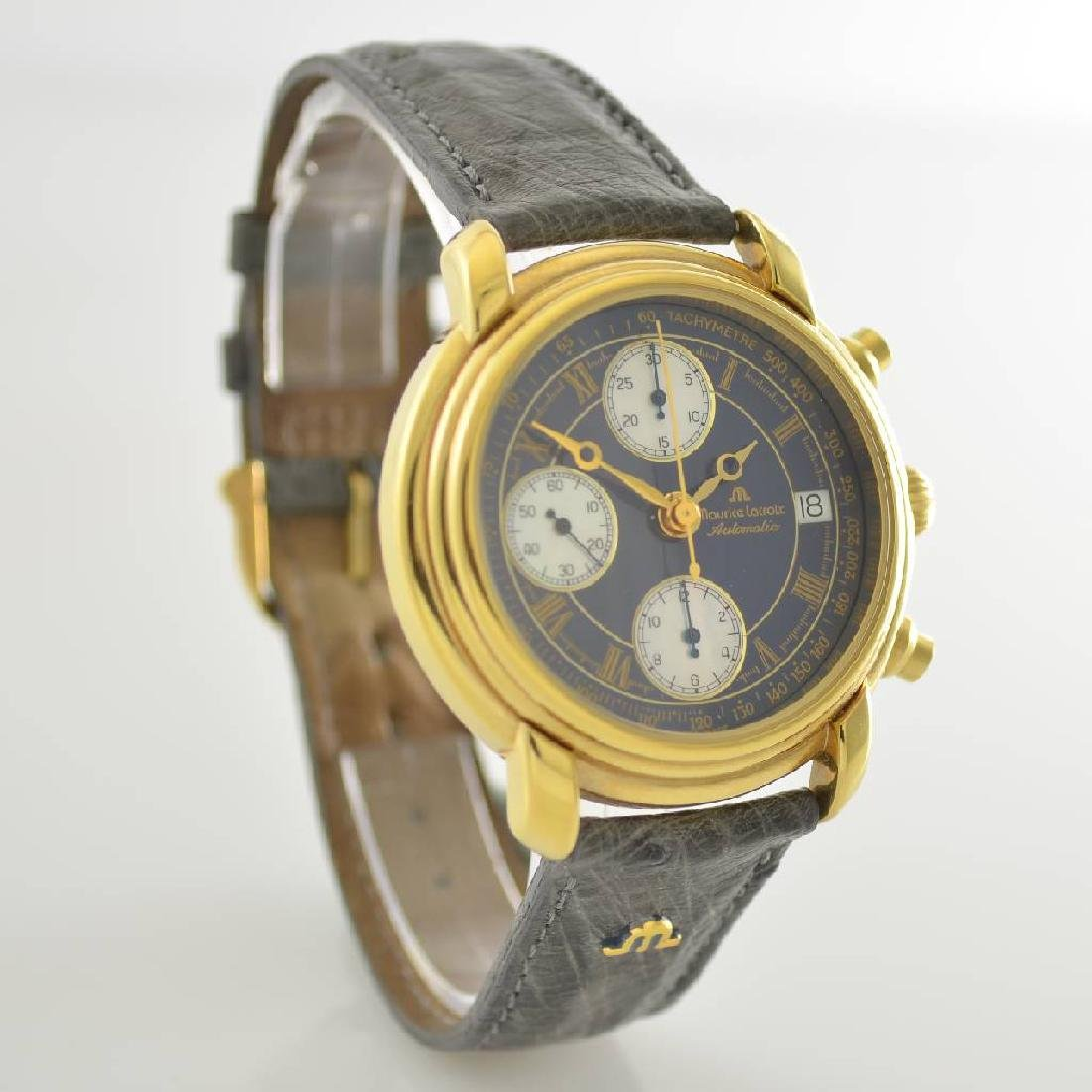 MAURICE LACROIX gents wristwatch with chronograph - 5