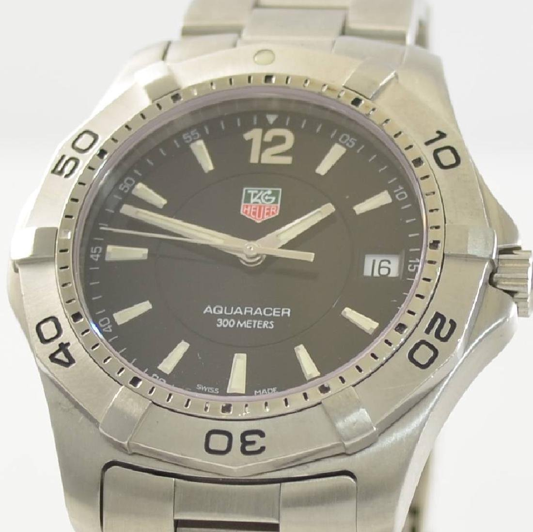 TAG HEUER gents wristwatch Aquaracer - 4