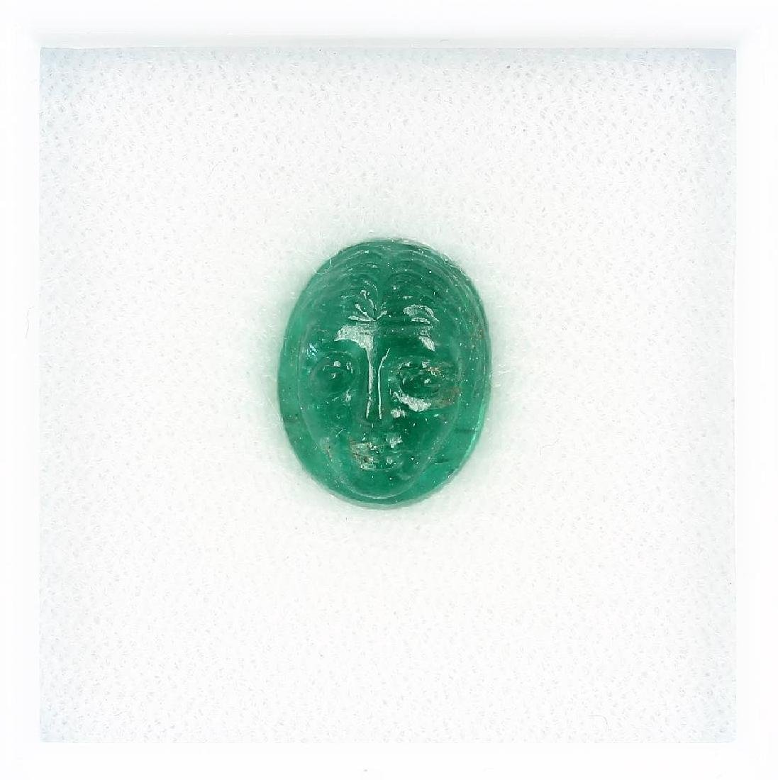 Loose emerald, approx. 7 ct