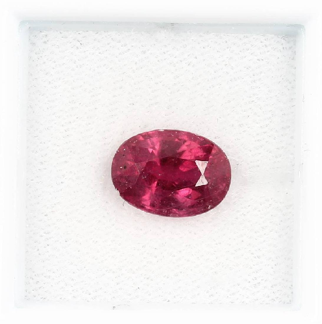 Loose ruby, approx. 4 ct