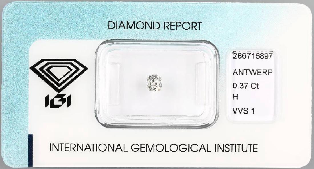 Loose old cut diamond, 0.37 ct