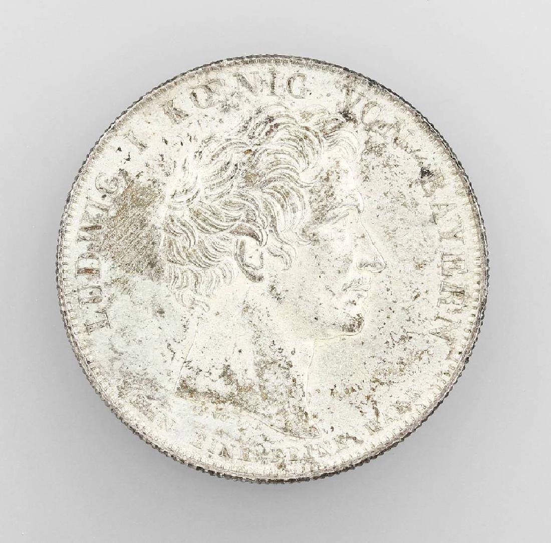 Silver coin, 1 Taler, Bavaria, 1825