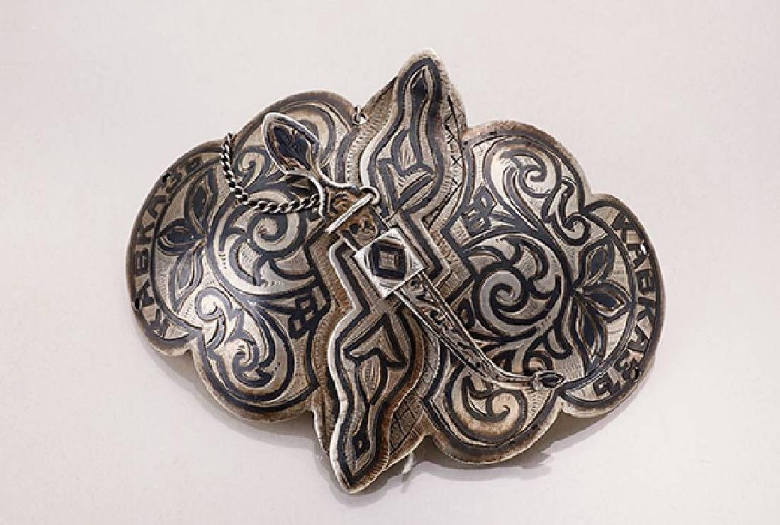 Belt buckle, Russia/Caucasus approx. 1880s