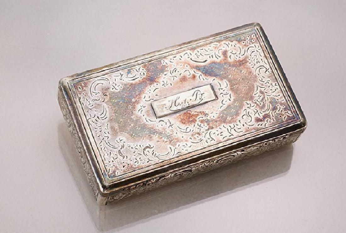 Snuff box, Austria/german approx. 1880s
