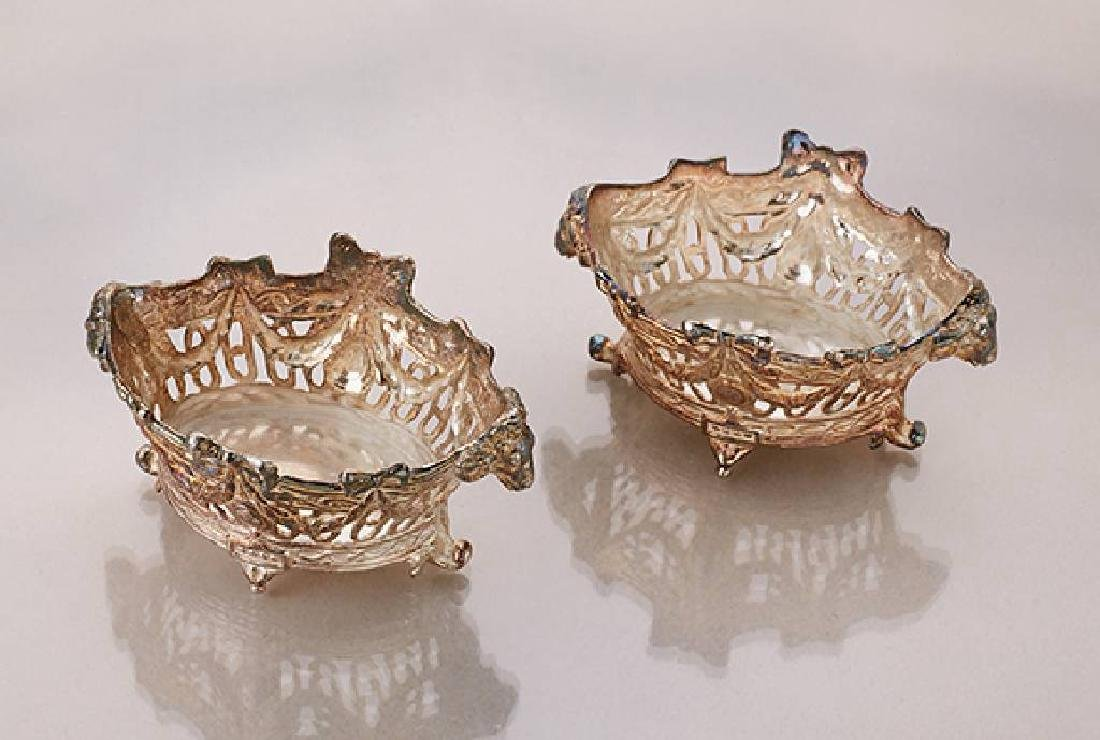 Pair of spice bowls, approx. 1900s