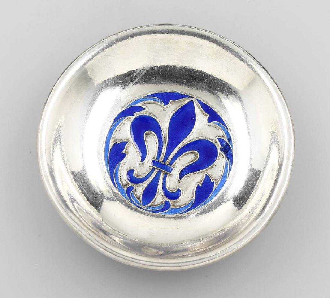 Brandy bowl with enamel, Pforzheim approx. 1900s