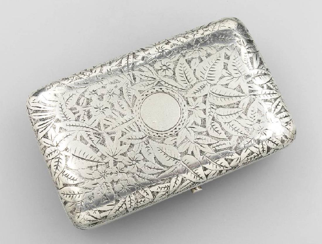 Cigarette case, Russia 1891