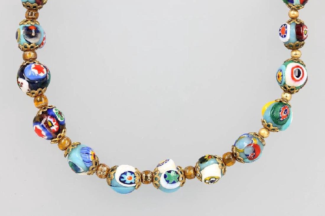 Necklace made of muranoglass, Italy approx. 1920s