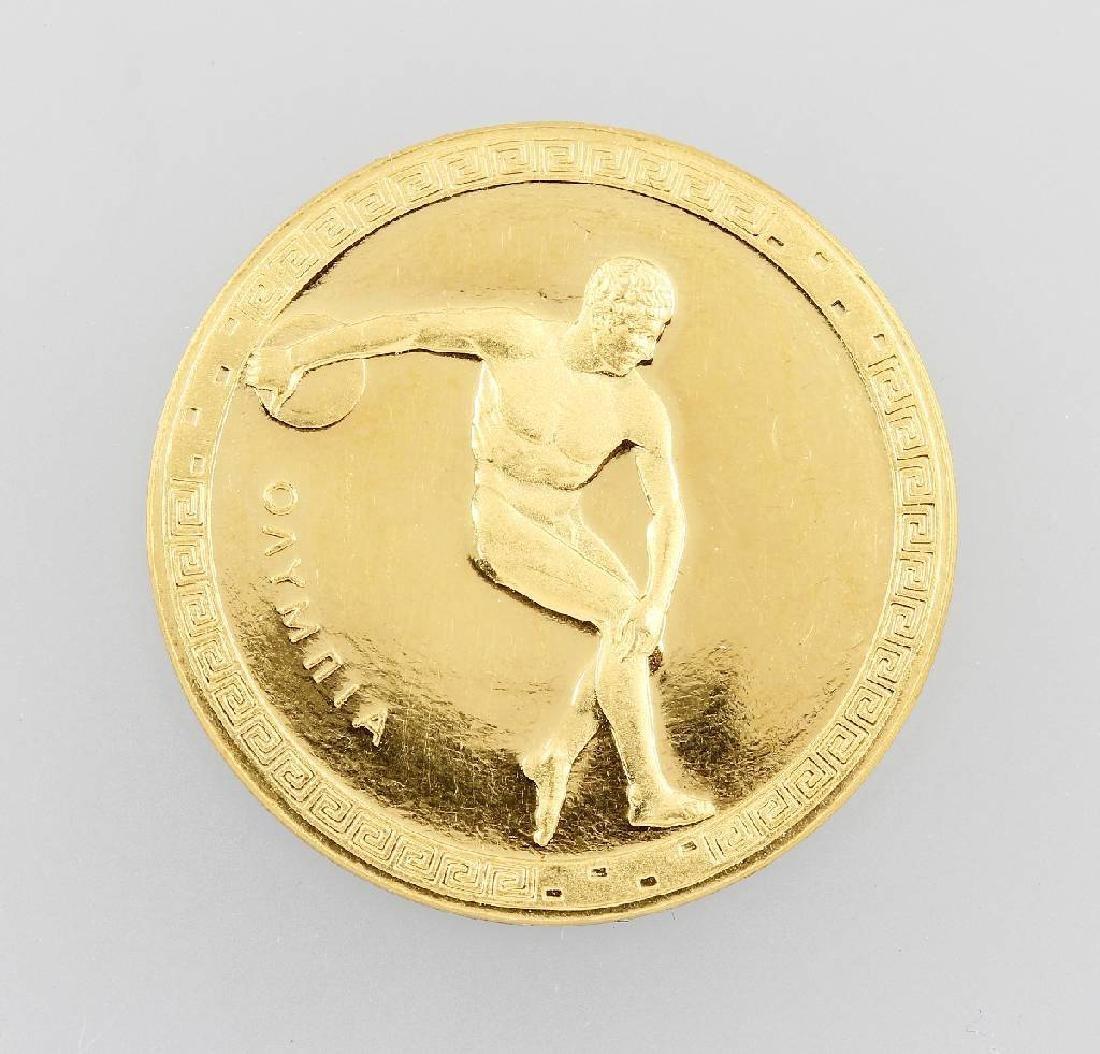 Goldmedal 'Olympia Mexico'