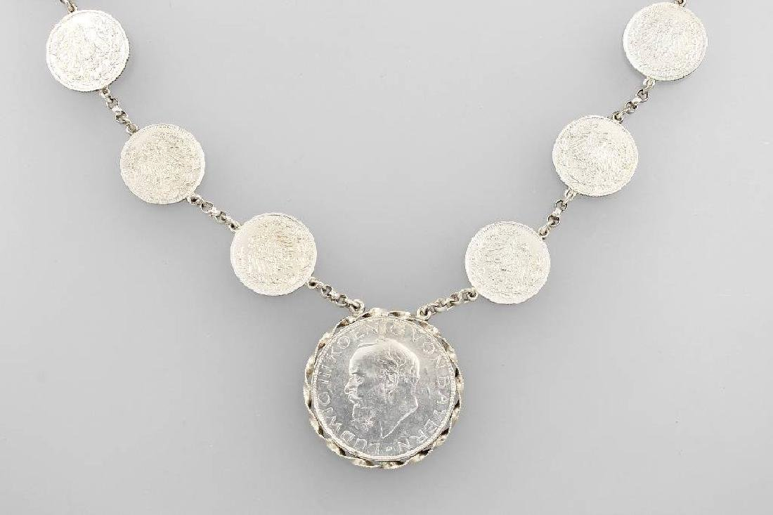 Coin necklace, german approx. 1920s