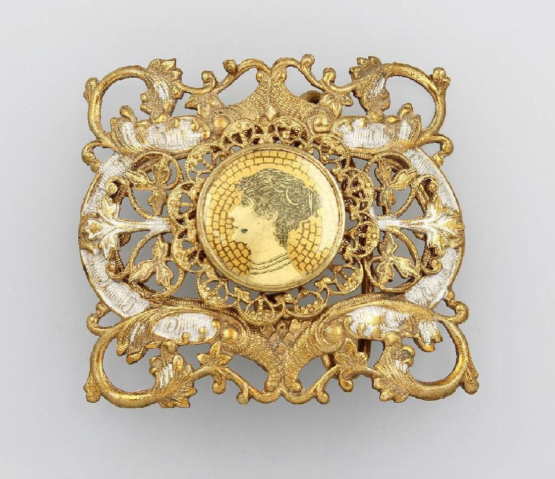 Belt buckle, german/Austria approx. 1890/1900s