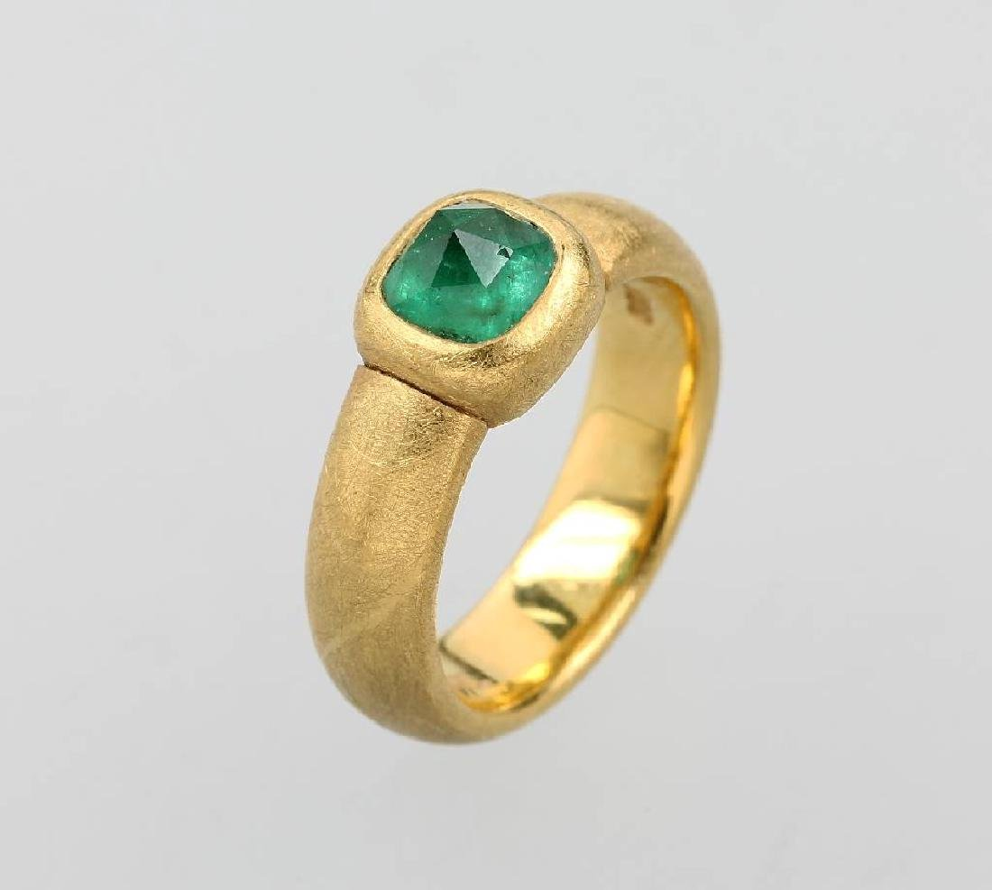 CADEAUX ring with emerald