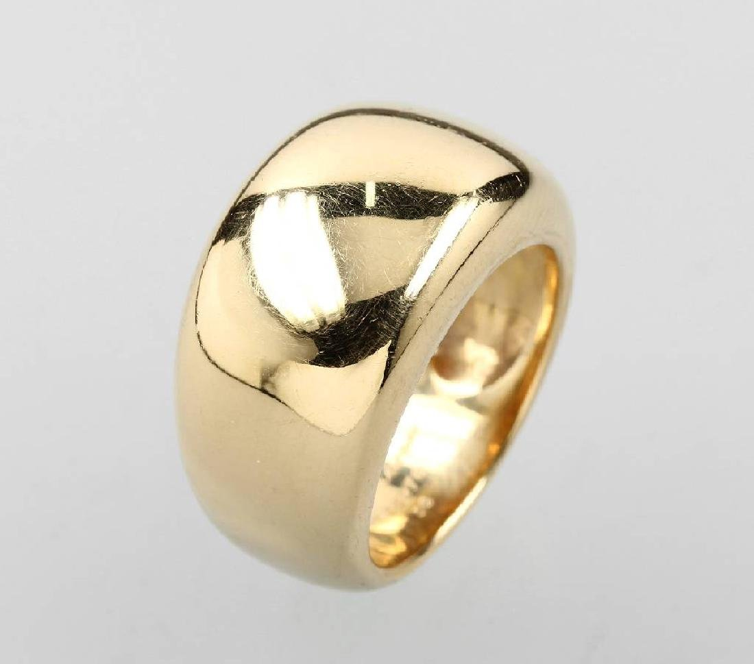 18 kt gold CARTIER ring