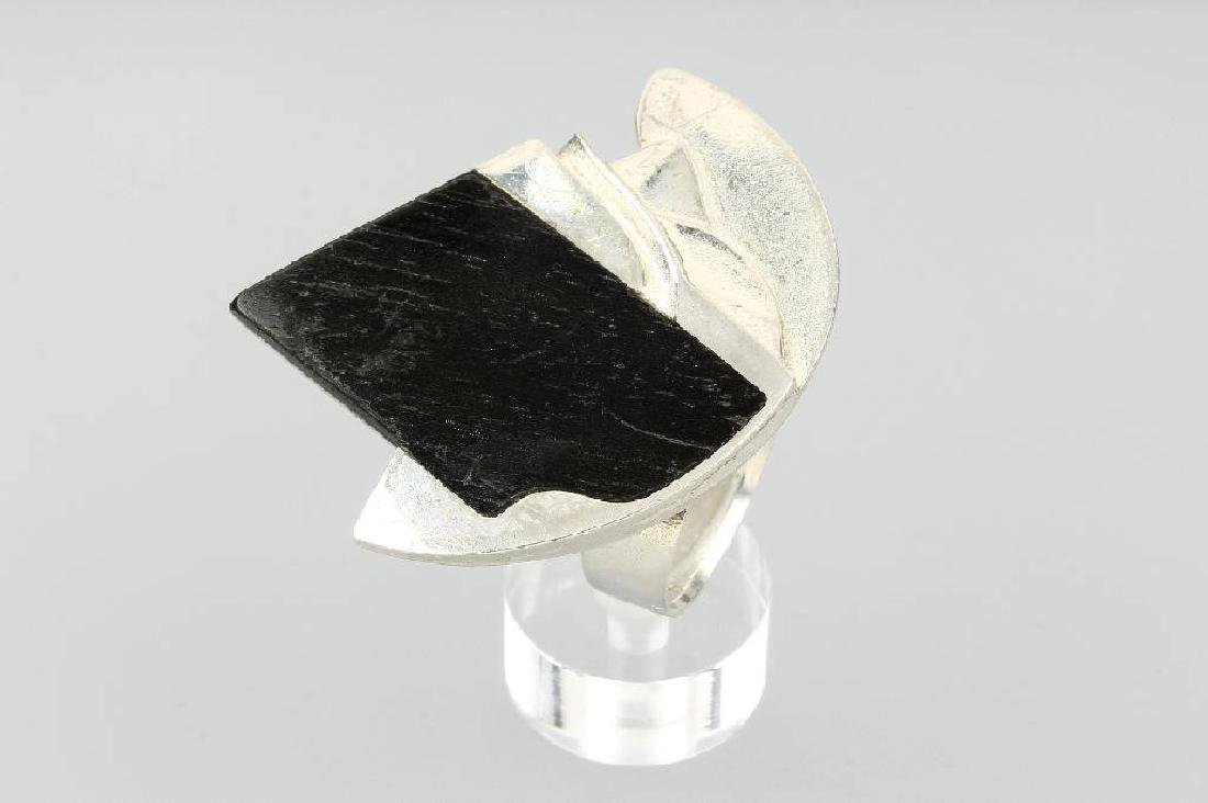 LAPPONIA ring with ebony