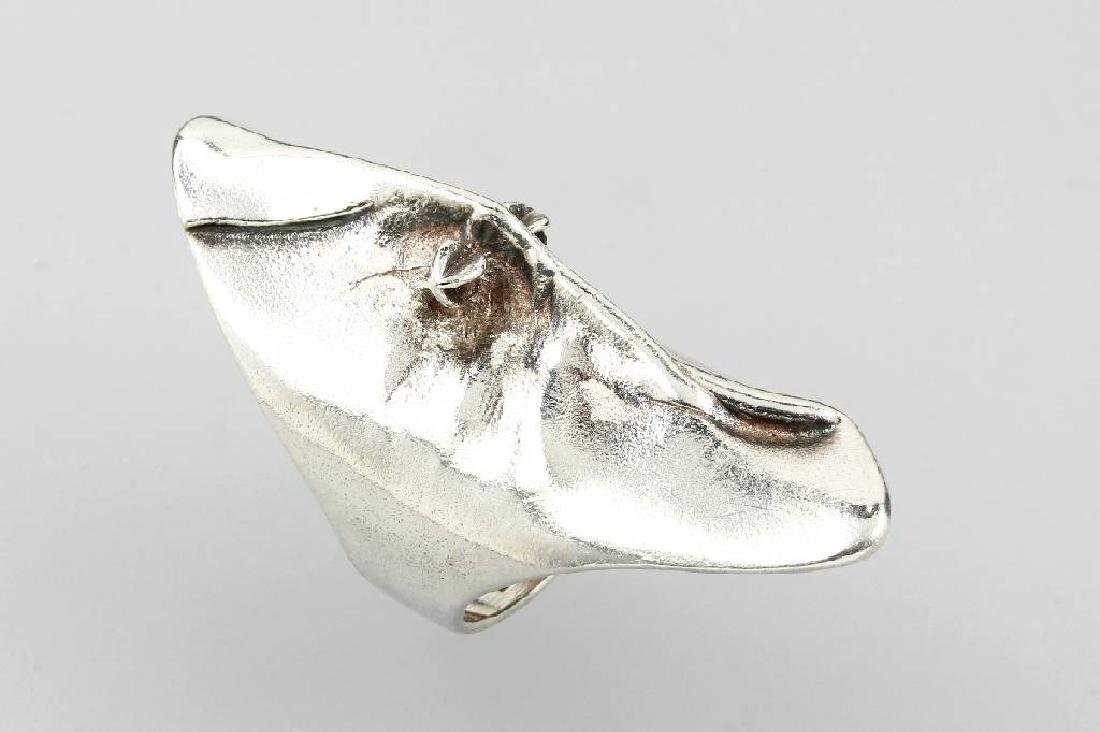 LAPPONIA ring 'mask', silver 925