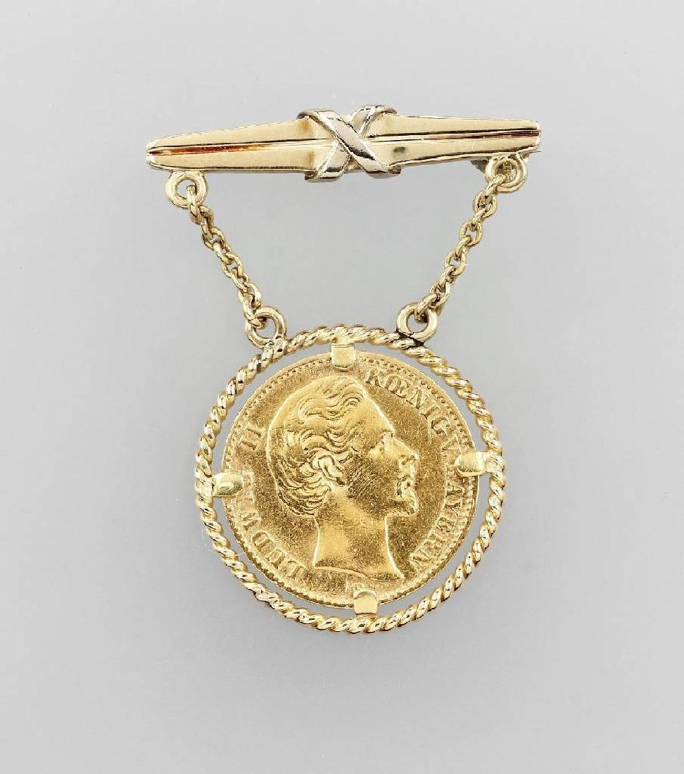 Gold coin, 10 Mark, 1872