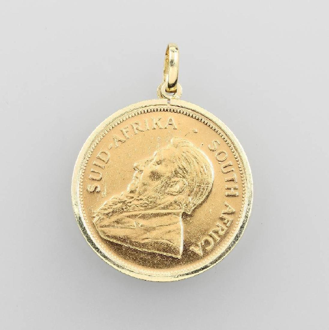 Coin pendant Krügerrand 1978