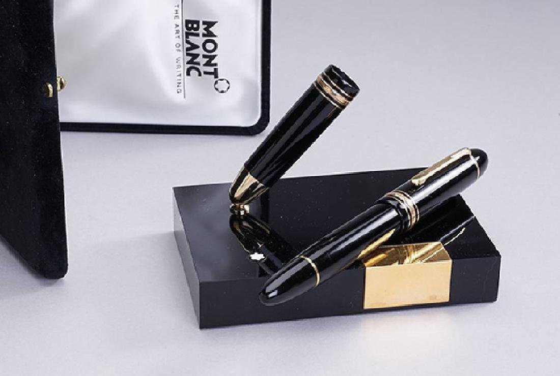 Montblanc Escritoire set fountain pen Masterpiece