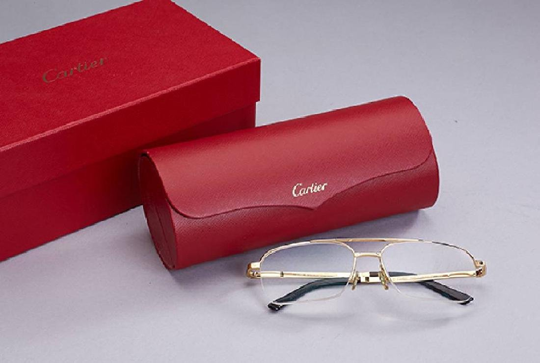 CARTIER reading glasses, Santos