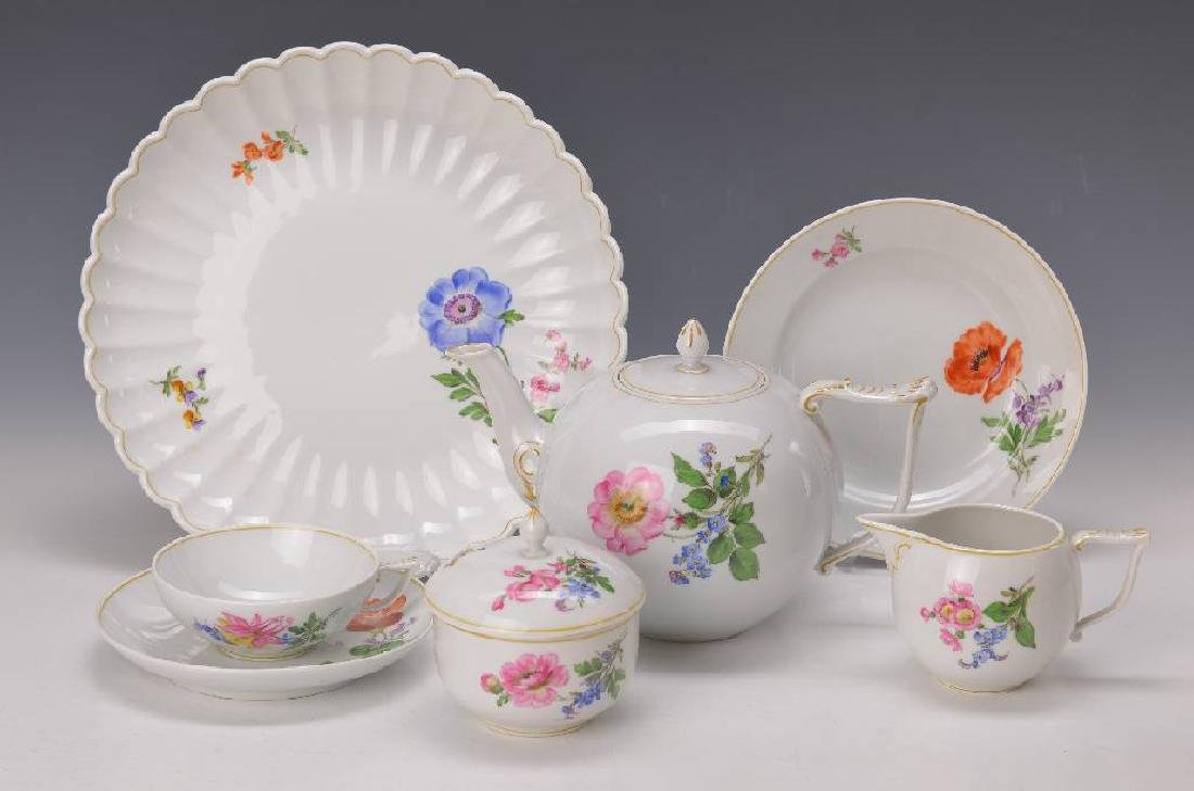 tea set, Meissen