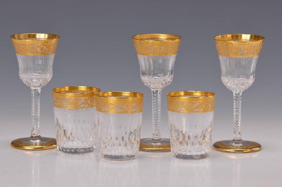 11 glasses, Saint Louis