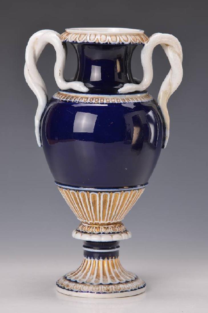 snake handle vase