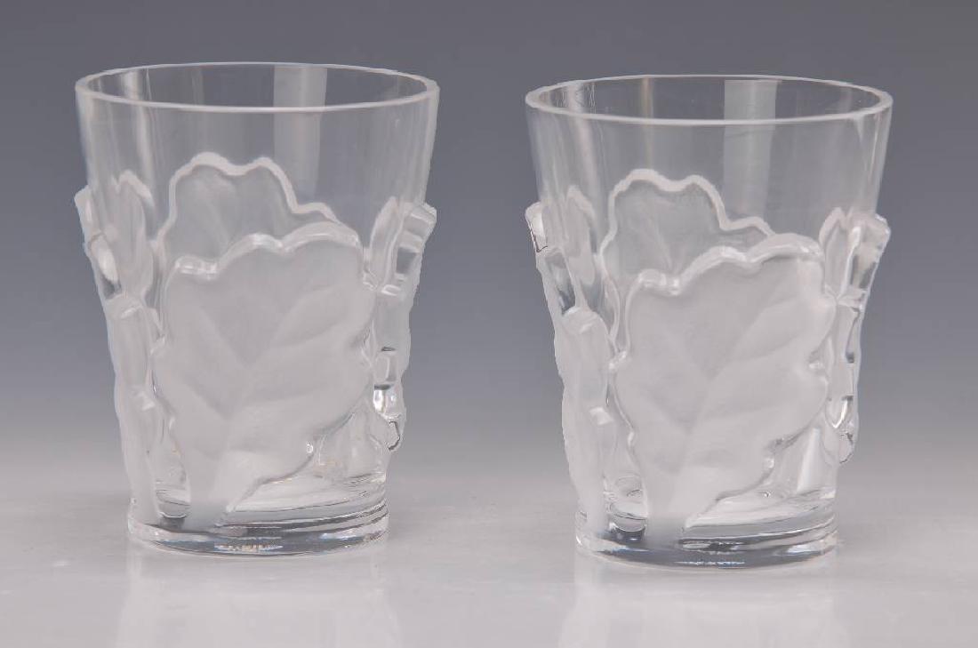 two glasses, Lalique