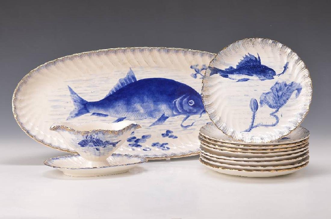fish set, Franz Anton Mehlem