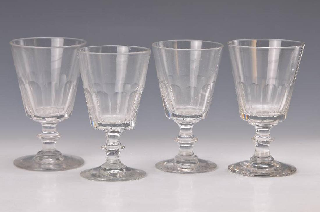 6 wine glasses, France