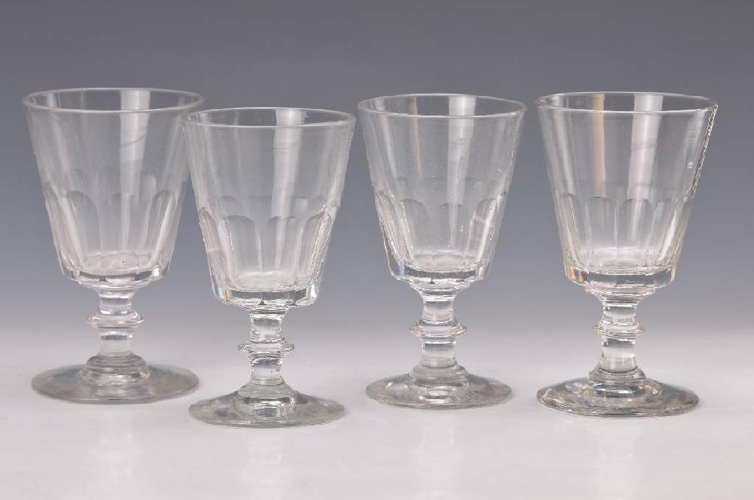 6 wine glasses, France