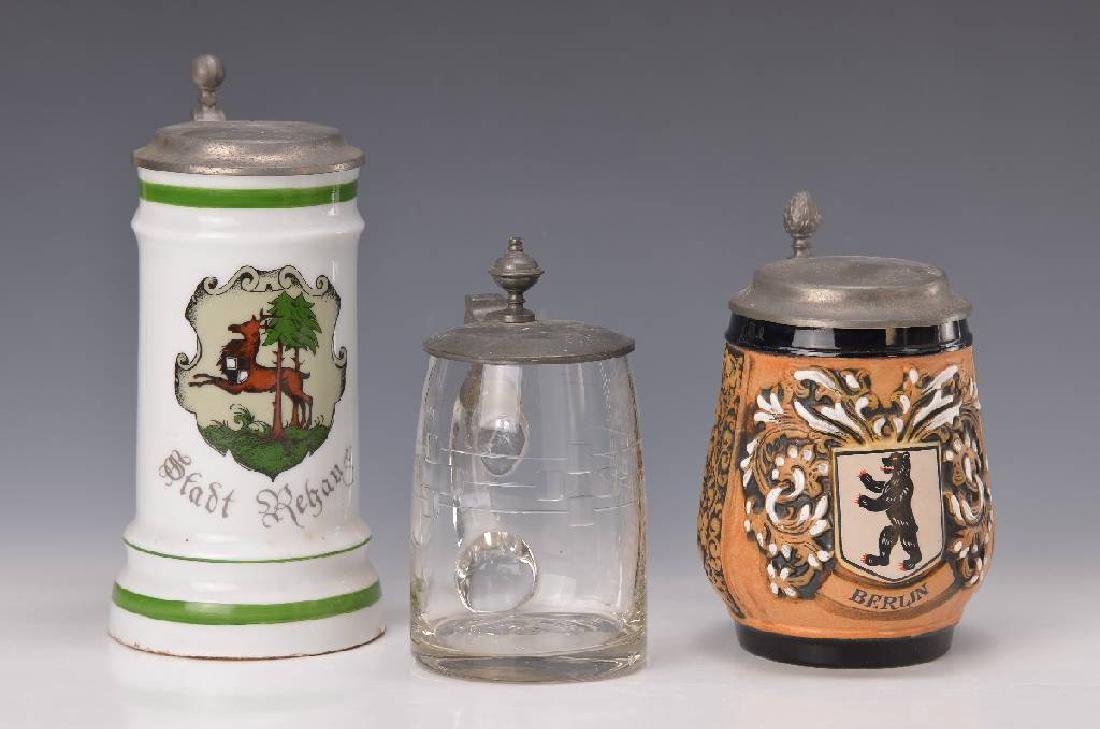 10 steins, german