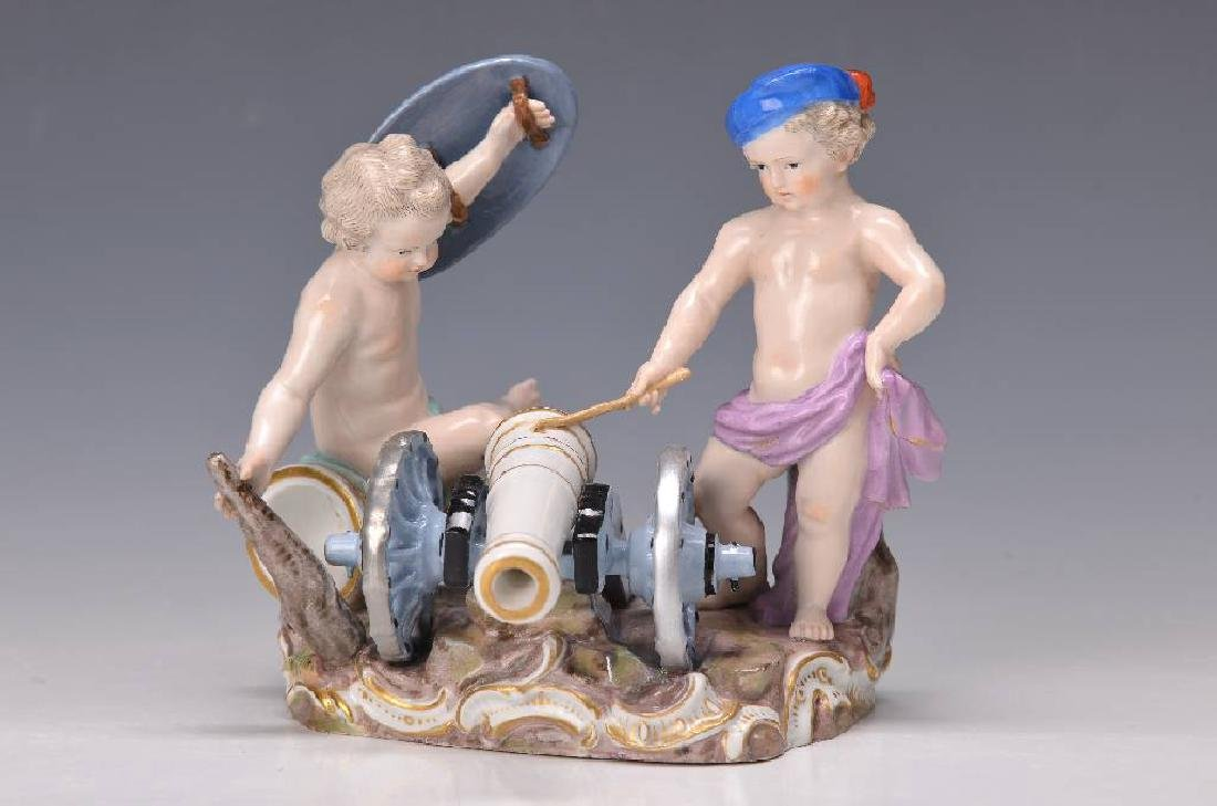 porcelain group, Meissen