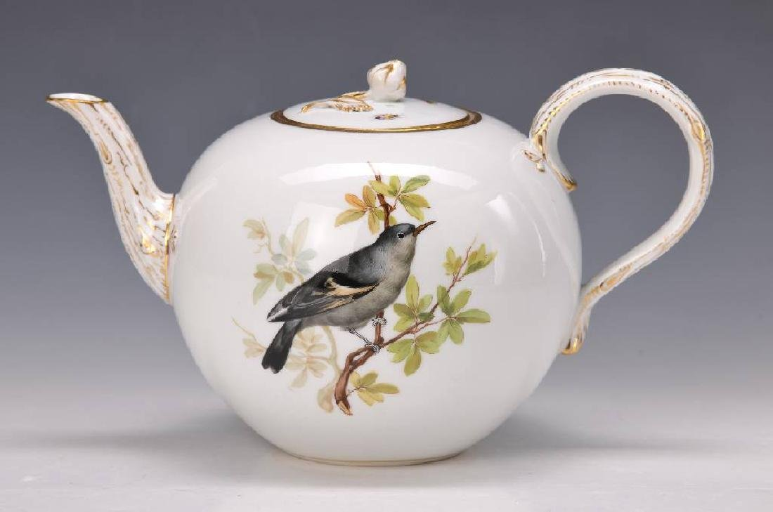large tea pot, Meissen