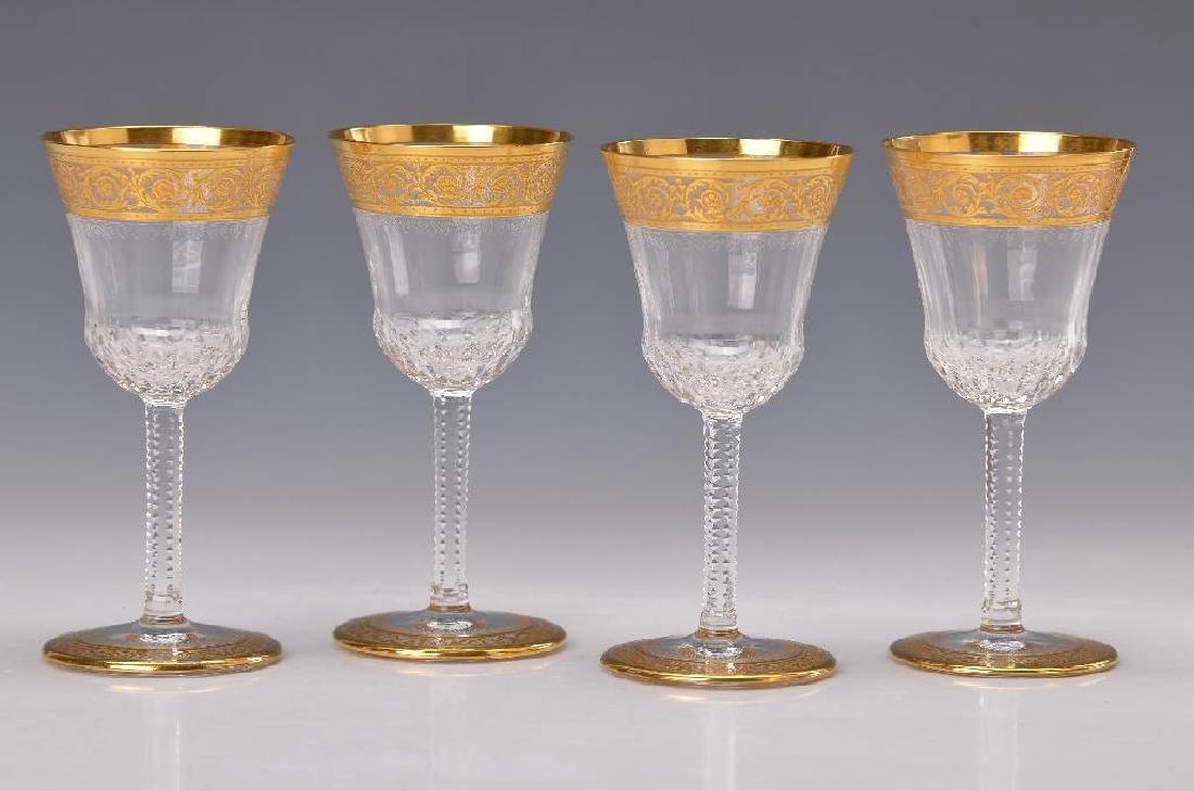Six port wine glasses